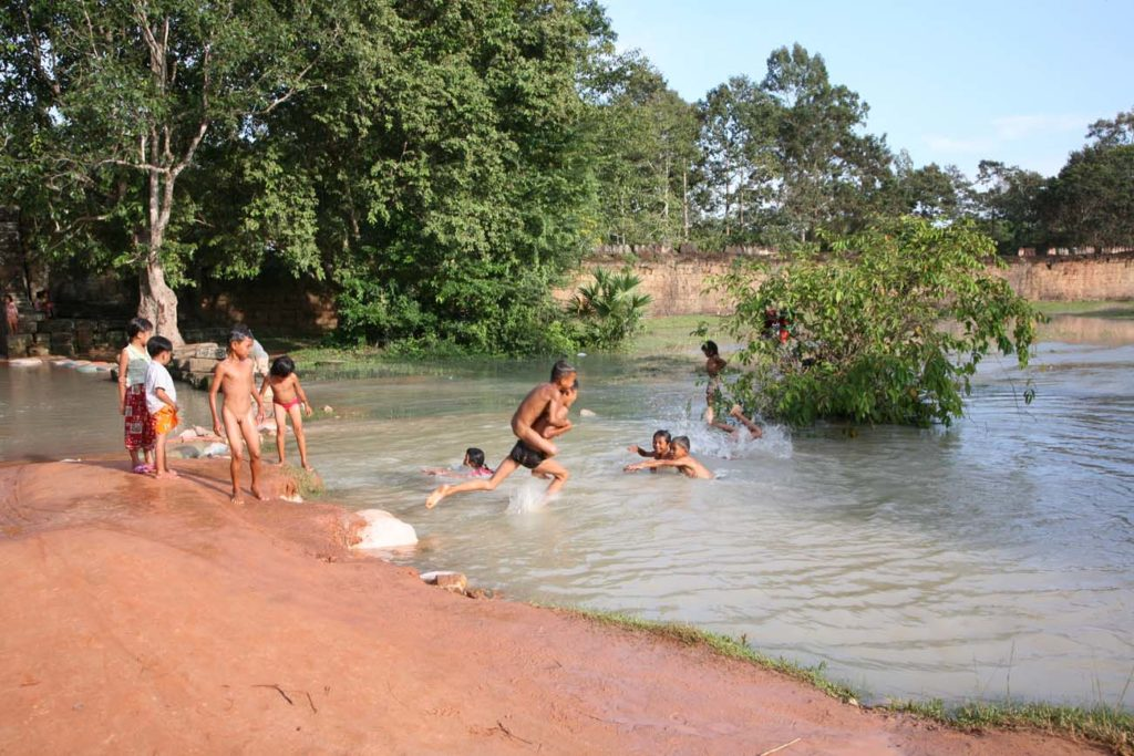 Swimming Hole from flooded water