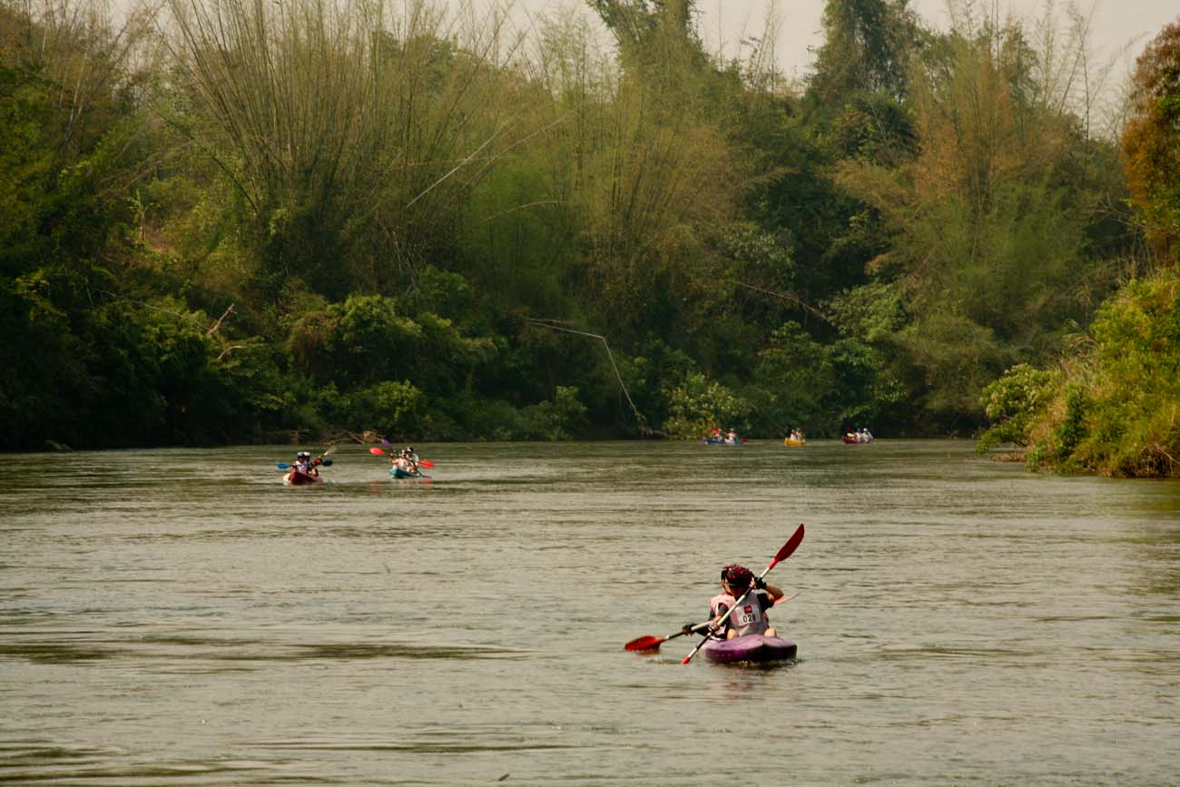 River portion of the event