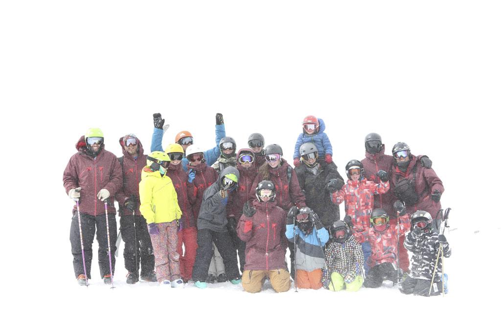 Marmot Peak hike jasper freeride