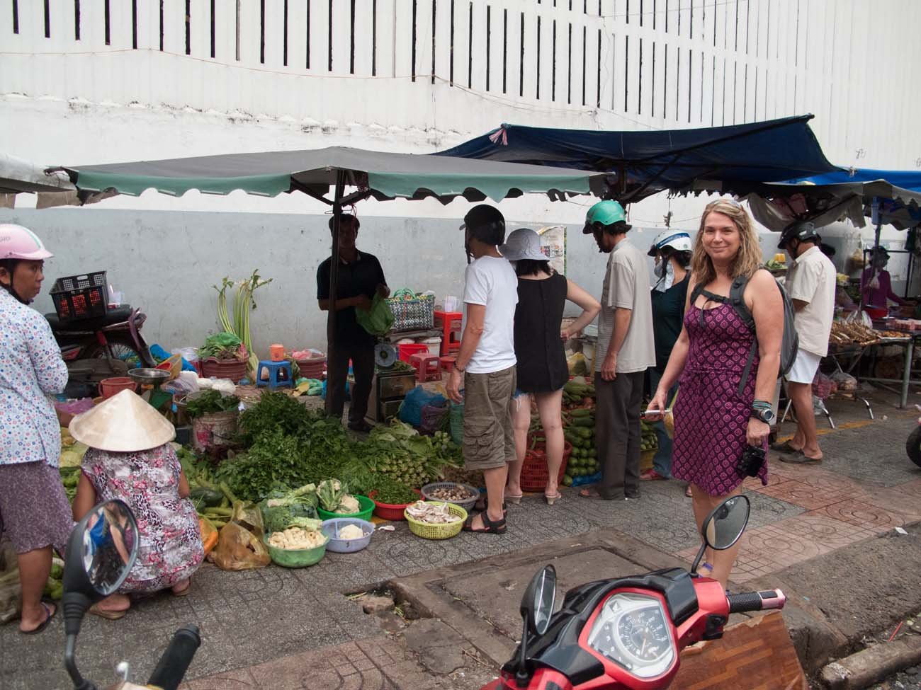 Sidewalk Street Vendors