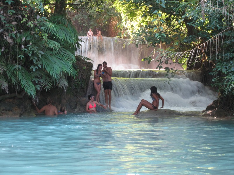 Waterfalls, Luang Prabang