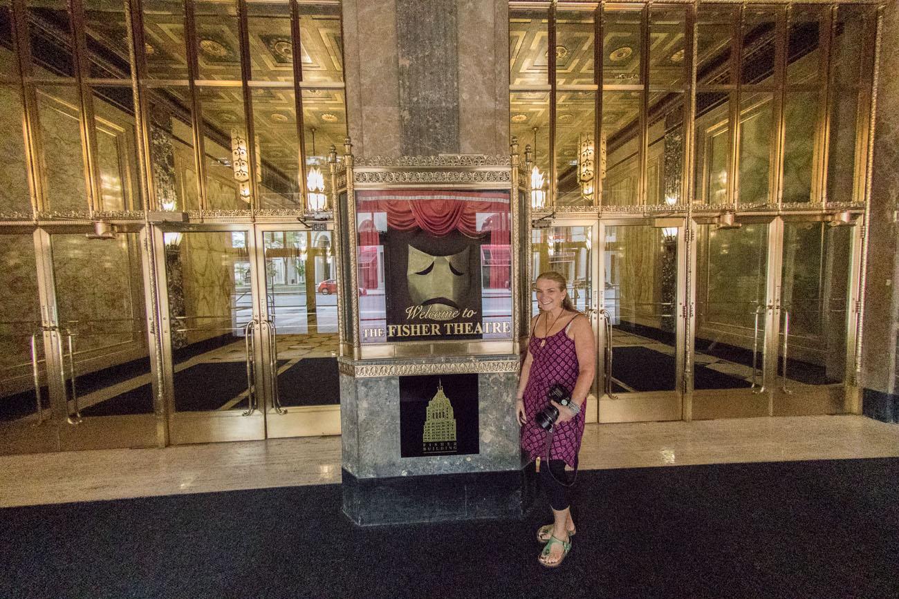 Fisher Theatre Detroit