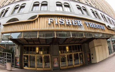 Fisher Theatre, Michigan
