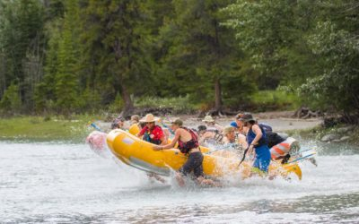 Rafting The Athabasca River