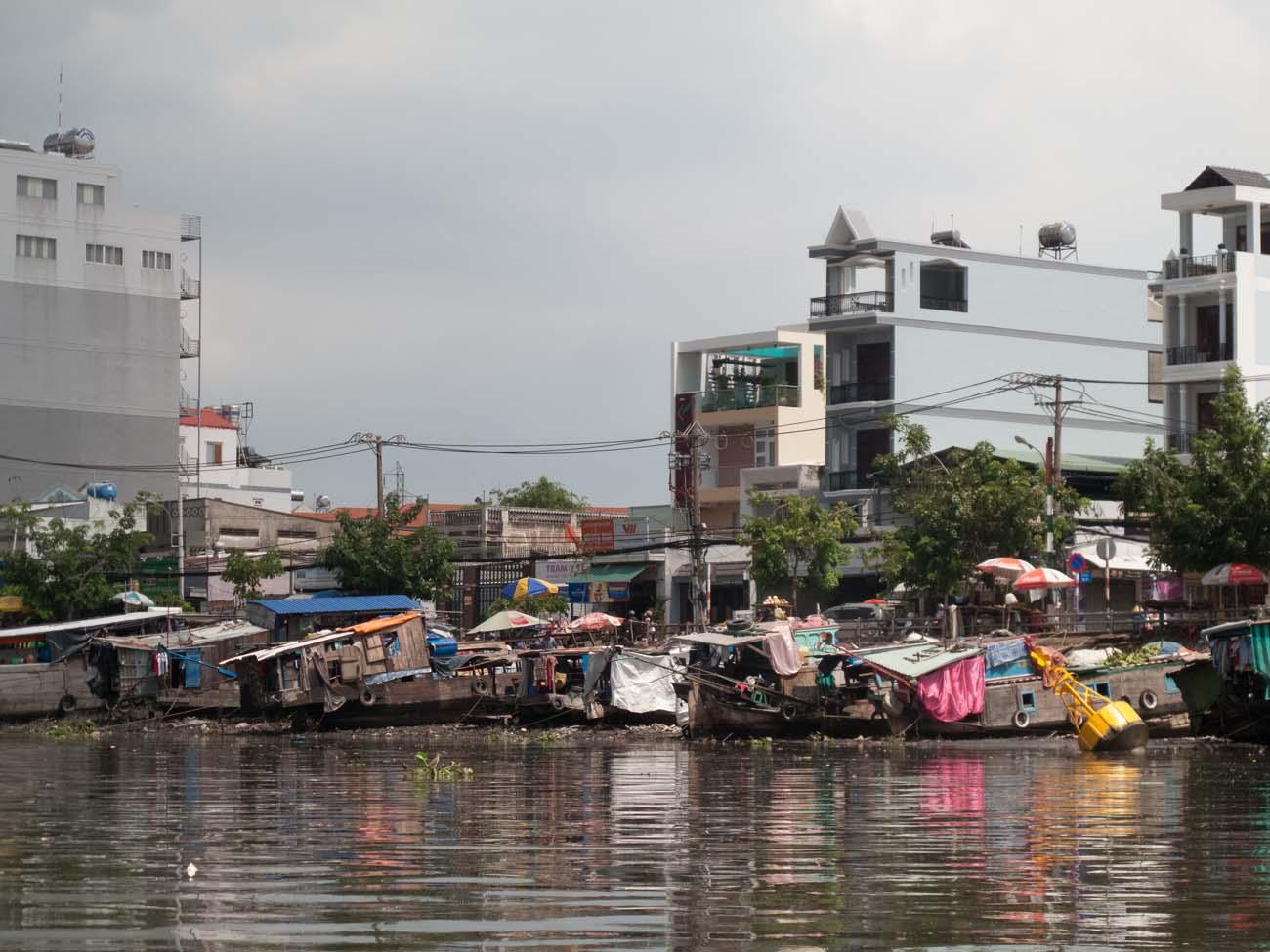 Boat tour, Saigon