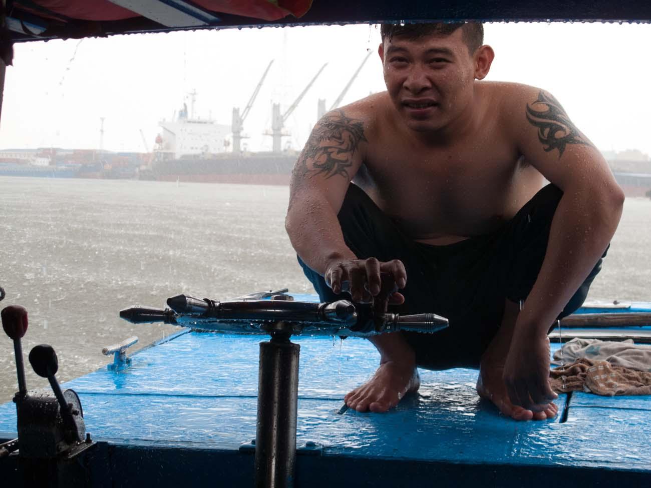 Our Captain, boat tour, Saigon