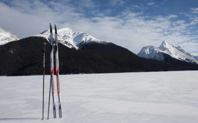 Cross-country Ski, Maligne Lake