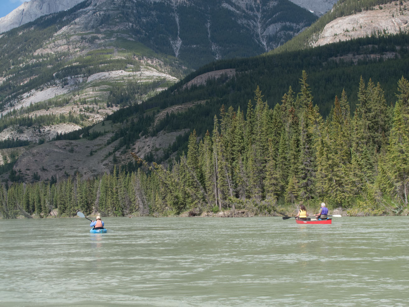 Floating Down the Athabasca