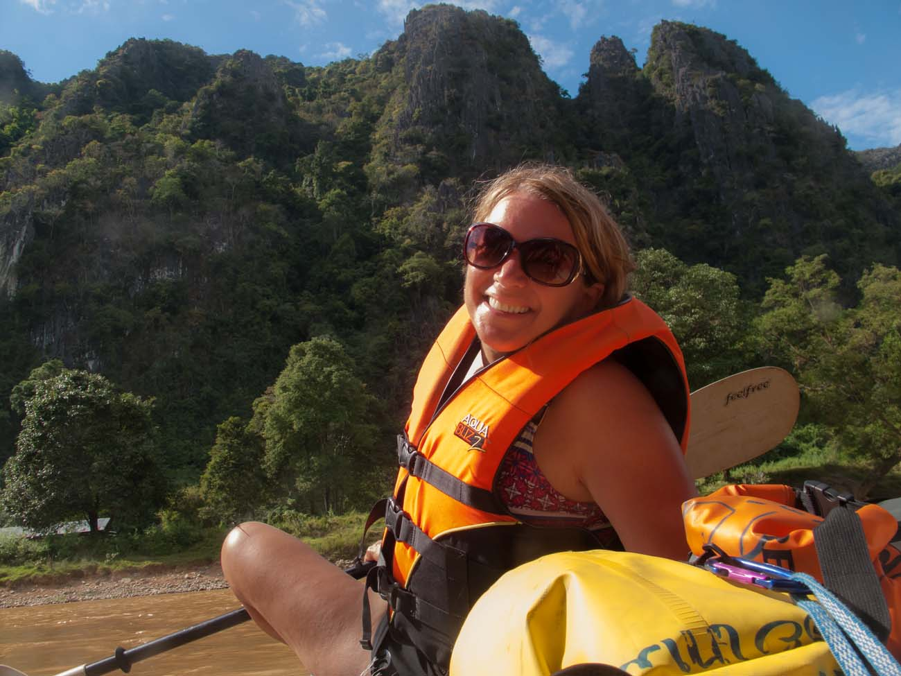Kayaking on the Nam Song River