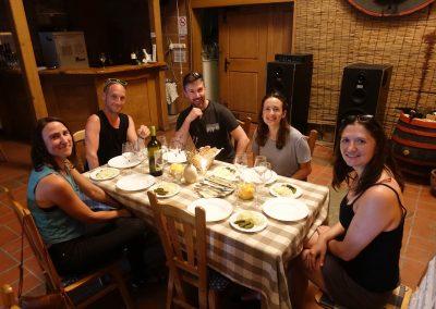 Sipos Borhaz Winery Dinner