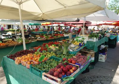 Slovenian fresh market